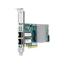 HP Adapter NC523SFP FC 2-port 10G SFP+ PCI-E 593715-001 High Profile